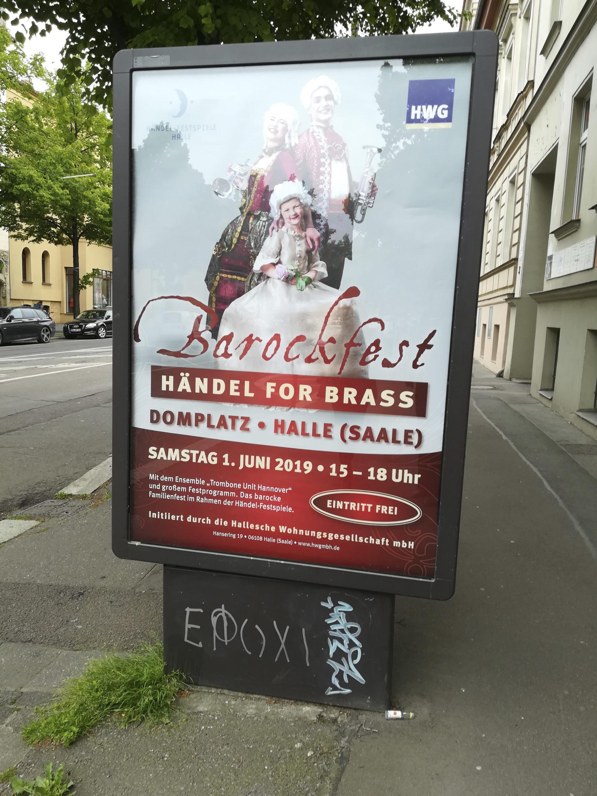 Werbung Barockfest
