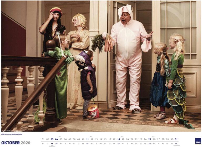 HWG Kalender Monat Oktober